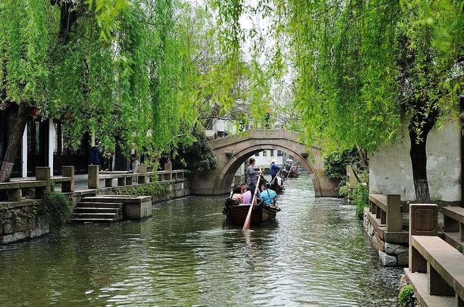 All inclusive private trip to water town Tongli or Zhouzhuang from Suzhou