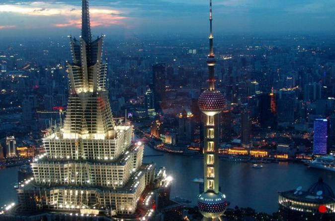 Half-Day Shanghai Must Sees Private Tour with Optional Lunch or Dinner
