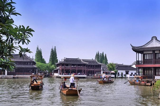 Private Half Day Tour to Zhujiajiao Water Town from Shanghai