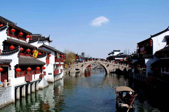Private Shanghai Layover Tour to Qibao Water Town with Maglev Train Experience