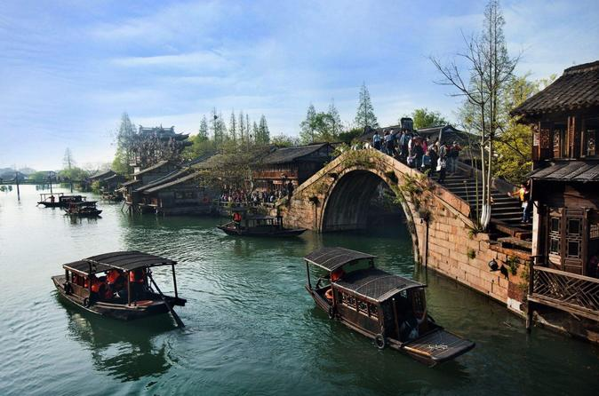 Private Zhujiajiao Water Town Tour with Shanghai City Highlights