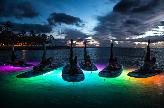 Night SUP Yoga