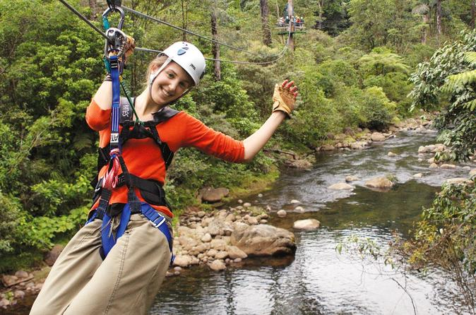 6 in 1 Rain Forest Adventure in Braulio Carrillo National Park from San Jose