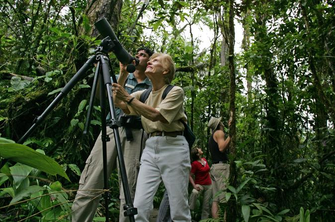 Birding tour from San José