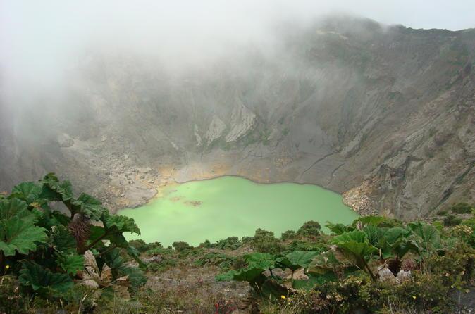Irazu Volcano Orosi  and Lankester from San Jose