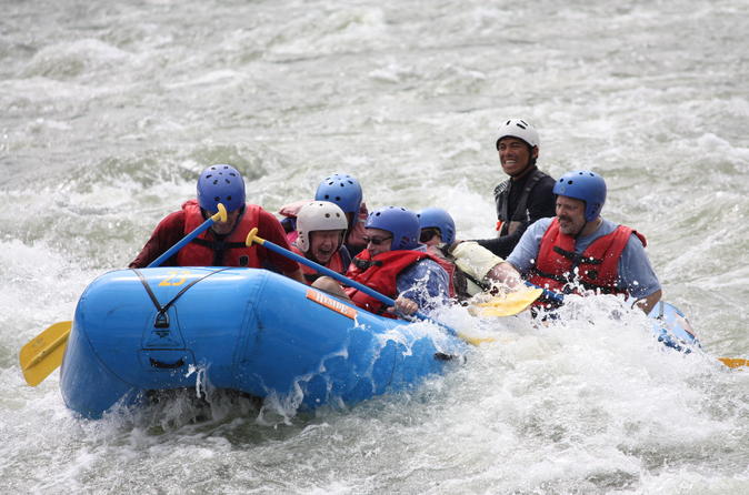 Rafting Reventazon River Class II - III from San Jose