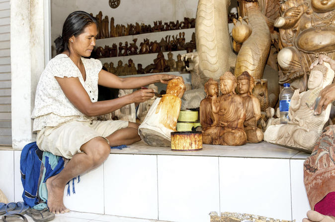 Bali Arts and Crafts Tour Including Ubud