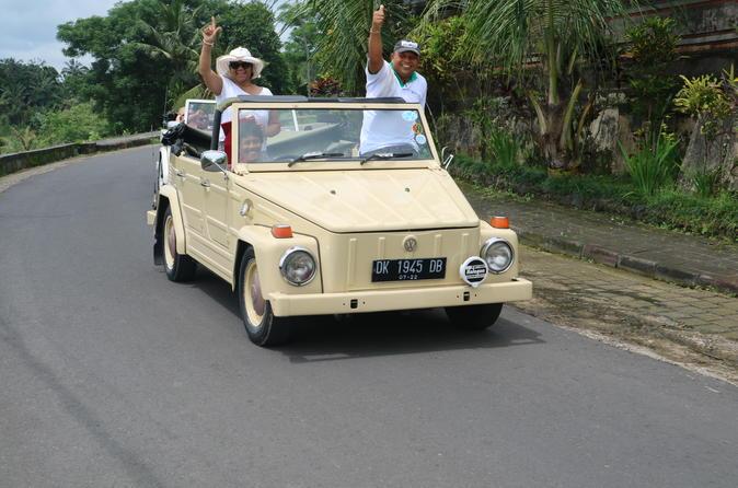 Full-day Bedugul, Jatiluwih, Tanah Lot Tour With VW Safari