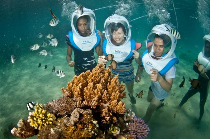 Passeio de um dia em cruzeiro pelos recifes de Bali e pela ilha Lembongan