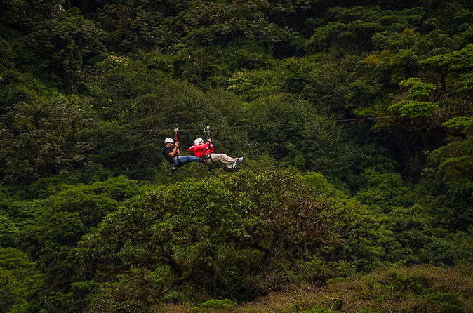 Selvatura park canopy tour in monteverde 339770