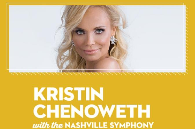 Kristin Chenoweth with the Nashville Symphony