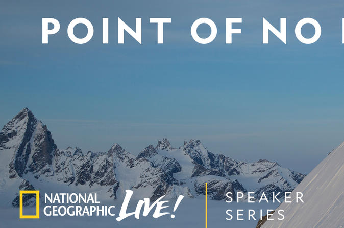 National Geographic Live! Point of No Return with Mountaineer Hilaree Nelson