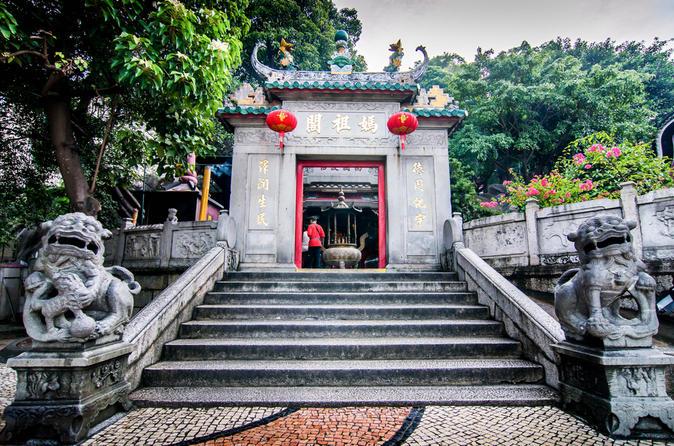 Excursão turística na cidade de Macau