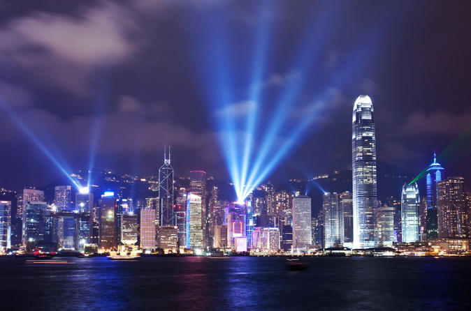 Hong Kong Harbor Night Cruise and Dinner at Victoria Peak Hong Kong, Asia