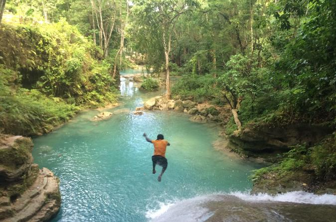 Blue Hole and River Tubing Combo from Ocho Rios