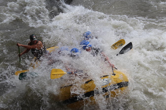 Class III and IV White Water Rafting Adventure on the Upper Balsa River