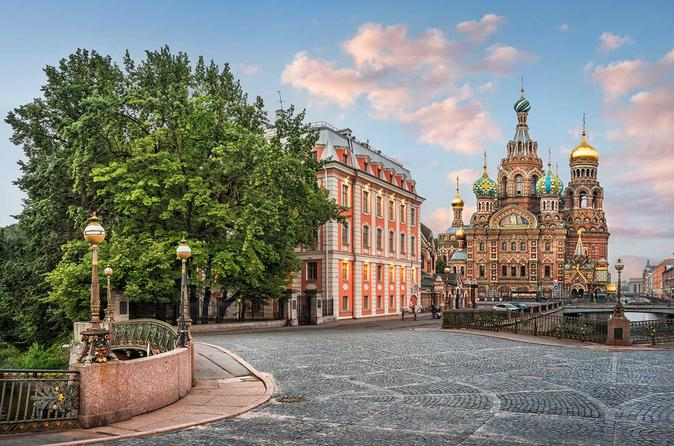 Private Walking Tour of Saint Petersburg Including Traditional Tea and Russian Treats