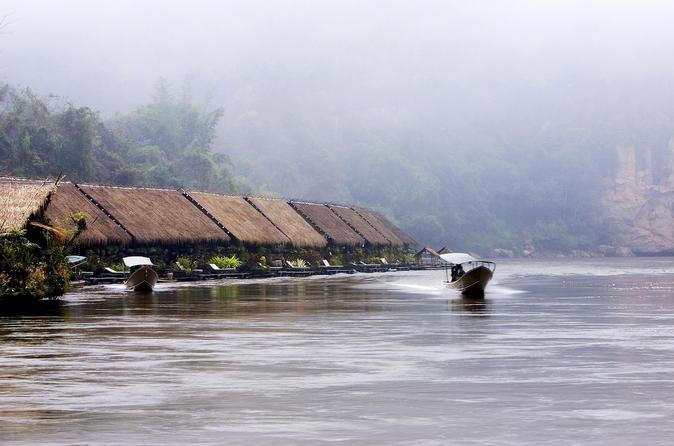 3-Day River Kwai Jungle Rafts Experience from Bangkok