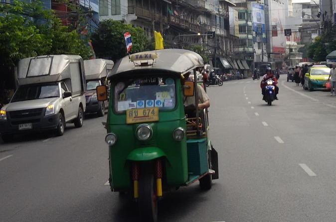 Bangkok Tour by Foot, Tuk-Tuk, and Riverboat