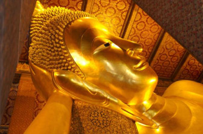 Excursão particular: Templos de Bangcoc, incluindo o Buda Reclinado em Wat Pho