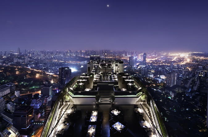 Fine Dining Experience at Vertigo Rooftop Restaurant at Banyan Tree Hotel