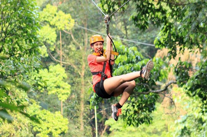 Flight Of The Gibbon  Zipline Adventure - Bangkok