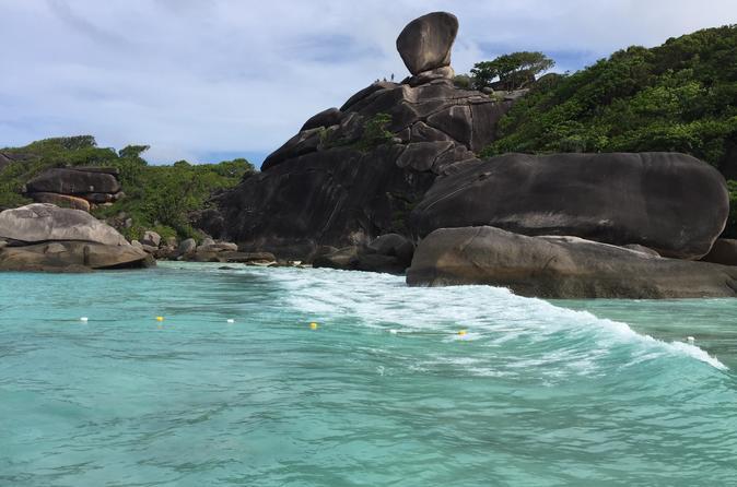 Ganztägige Tour zu den Similan-Inseln