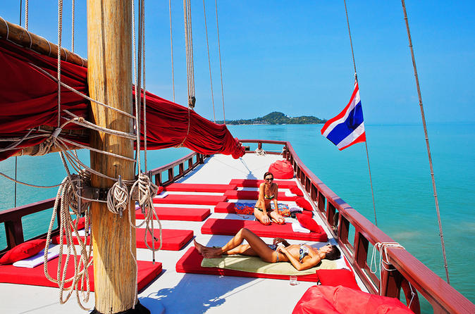 Koh samui brunch and snorkeling cruise in koh samui 150200