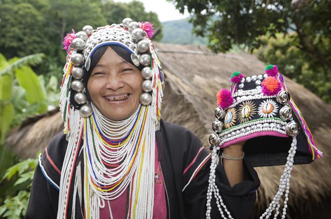 Bergvölker und das Goldene Dreieck ab Chiang Rai