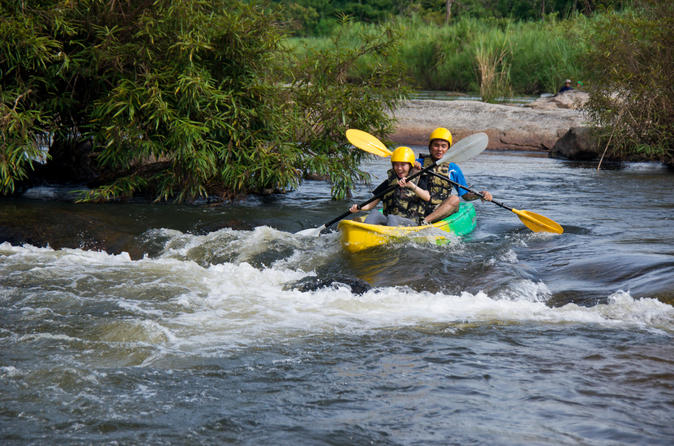 Trekking and Rafting Adventure from Phuket