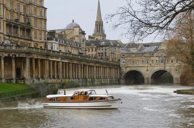 Morning 20-Minute Bath River Cruise including Pulteney Weir United Kingdom, Europe