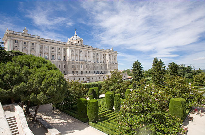 Madrid Card Royal Palace