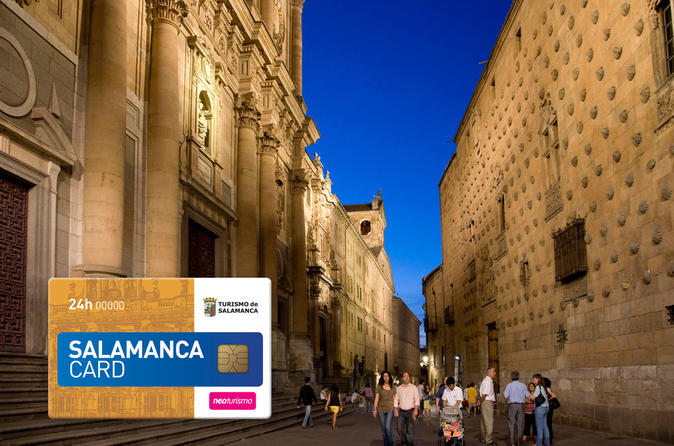 Salamanca card and sightseeing pass in salamanca 158346