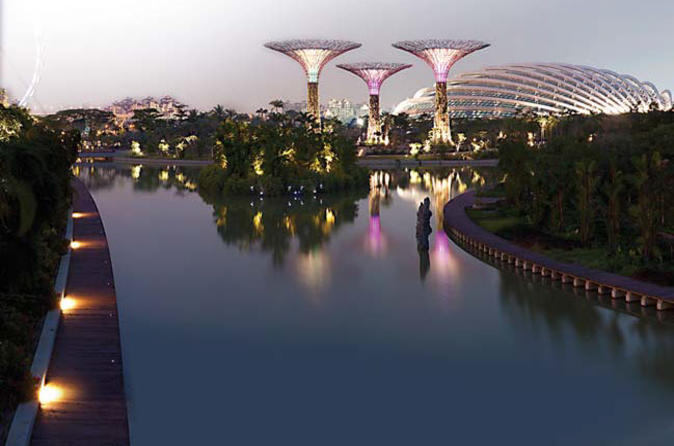 admission ticket to gardens by the bay in singapore with transport - Garden By The Bay Entrance Fee Singapore