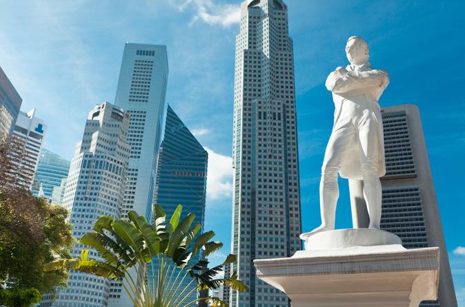 Excursão pela cidade de Cingapura