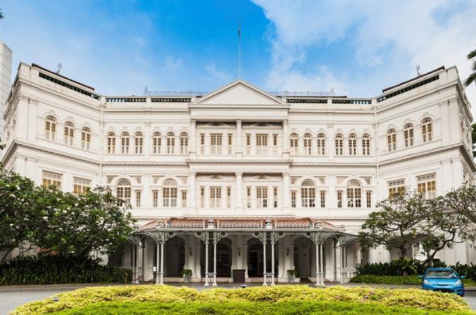 Private Tour: Raffles Hotel Singapore Half-Day Tour