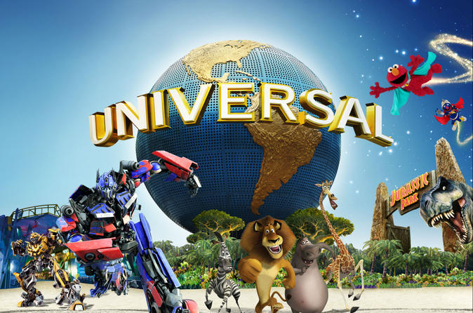 Singapore Super Saver: Universal Studios, S.E.A. Aquarium and Maritime Experiential Museum Admission with Optional Hotel Pickup""