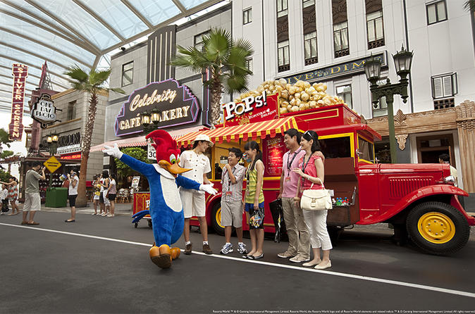 Skip the Line: VIP Tour of Universal Studios Singapore with Private Transfer""