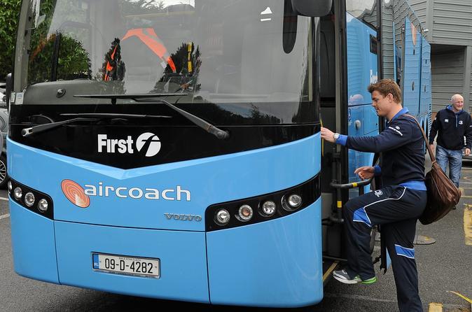 Aircoach-Rücktransfer und 3 Strecken 48-Stunden-Hop-on-off-Tour durch Dublin