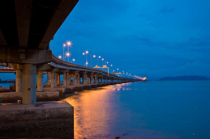 Penang Night Tour from Georgetown with Malacca Strait Ferry Ride Malaysia, Asia