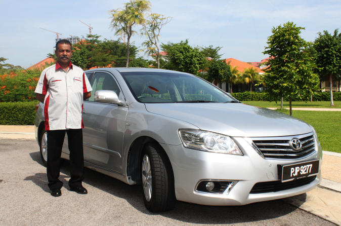 Private Arrival Transfer: Penang Railway Station to Beach Hotels