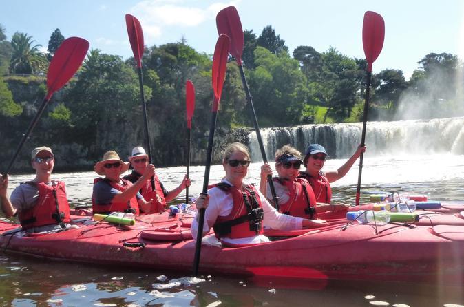 Classic Waterfall Kayak Tour - Auckland