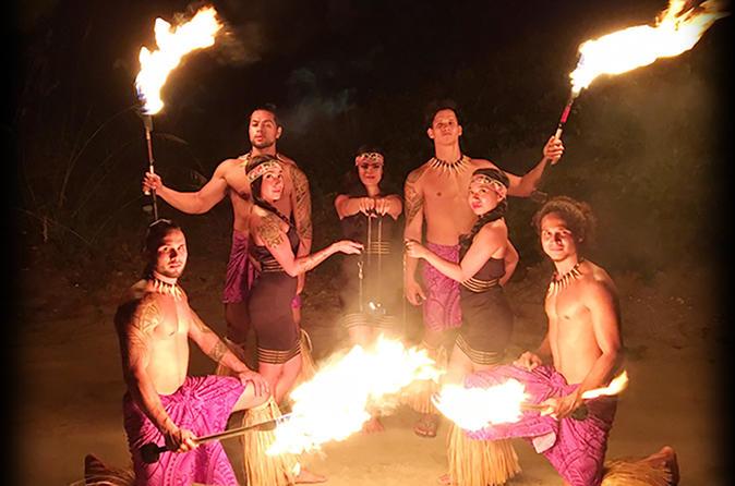 Polynesian Fire Luau and Dinner Show at the Hawaiian Inn