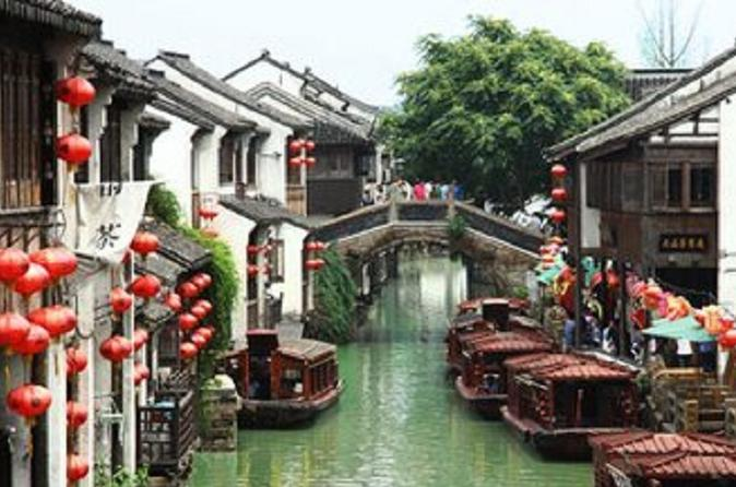 Private Suzhou Day Trip from Shanghai including Lingering Garden and Tiger Hill