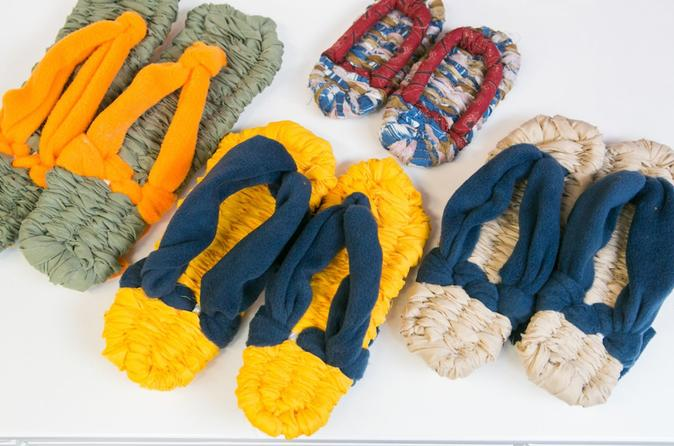 Let Your Fingers Dance! Scarf and Sandal Weaving