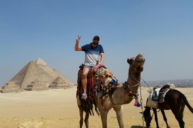 8-Hour Giza Pyramids and Coptic Cairo: Cave Church, Hanging Church, Synagogue