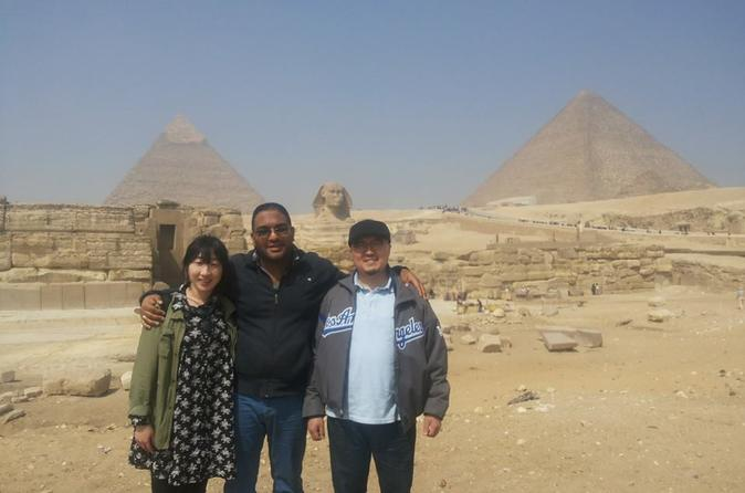 nile dinner and Gizap pyramids