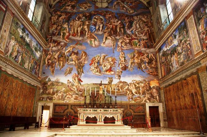 Acesso prioritário no início da primeira entrada — Capela Sistina e Museus do Vaticano