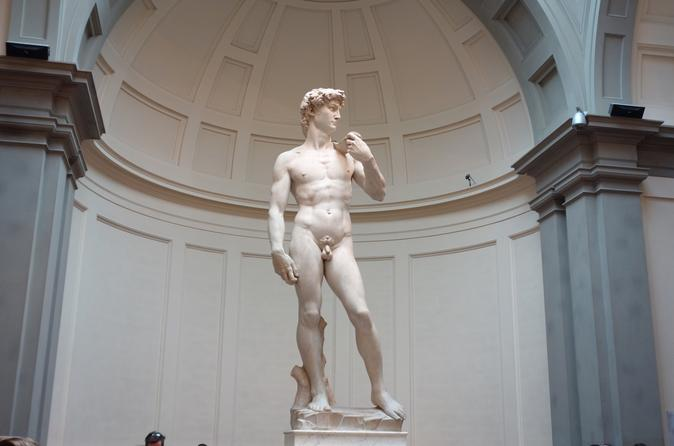 Best of Florence from Rome by High Speed train with Michelangelo's David
