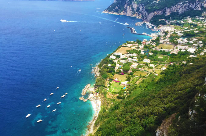 Capri in One Day Small Group Tour from Naples